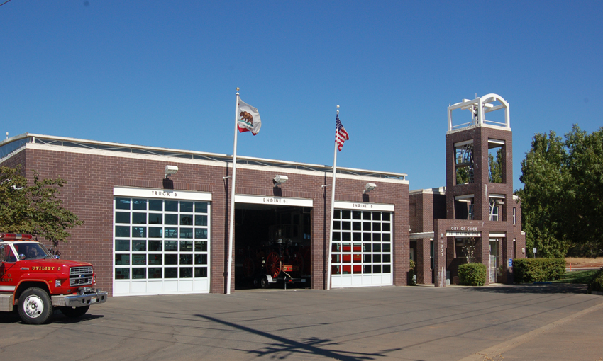 1507 Fire Station Five Griffith Architects Chico Ca