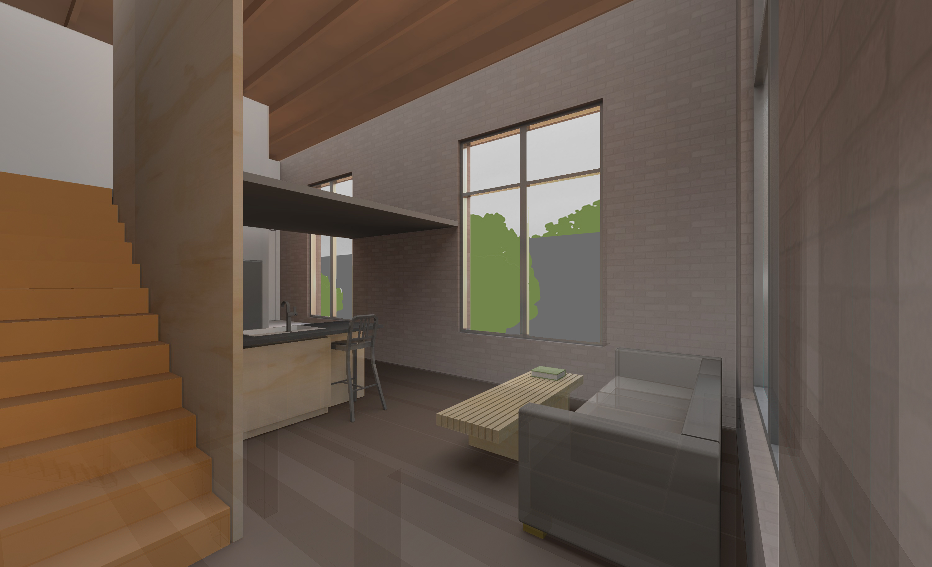 RENDERING 211 LOFT VIEW MATCHED